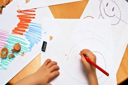 El dibujo es un acto libre y natural del niño\