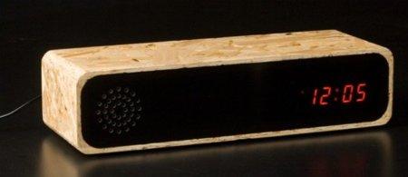 KNOX IE, despertador de madera de Furni