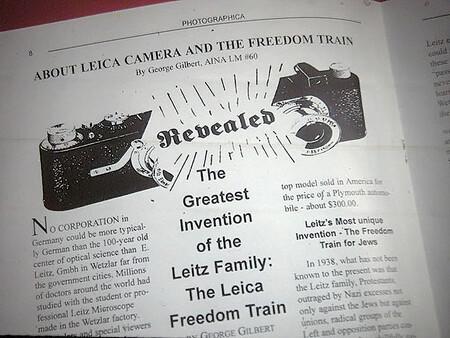 El tren de la libertad de Leica