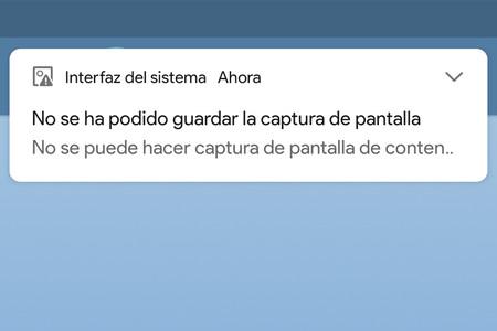 Cómo hacer una captura de pantalla en aplicaciones que no lo permiten y sin root