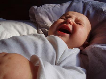 el llanto del bebe