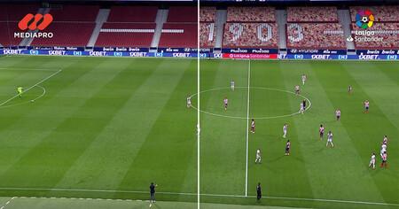 Fútbol en Movistar+: cómo se crean la imagen y el audio virtuales de los partidos