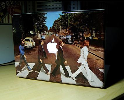 Imagen de la semana: Abbey Road MacBook