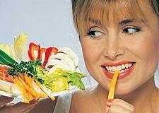 Siendo vegetariana se tienen menos posibilidades de concebir  mellizos