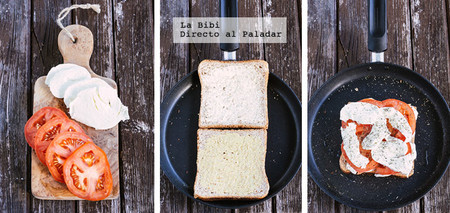Sandwich Caprese Prep