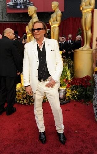Mickey Rourke en los Oscar 2009