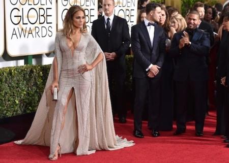 Jennifer Lopez Globos De Oro 2015