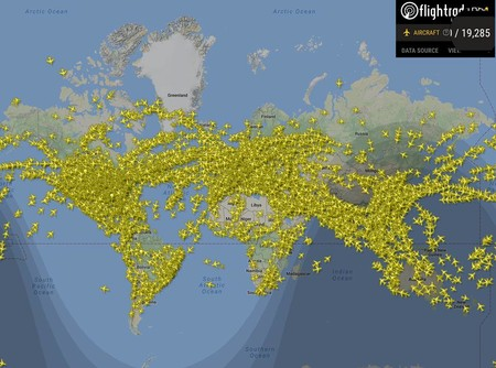 202.157 vuelos registrados en un sólo día: no es ciencia ficción, es el récord del viernes pasado