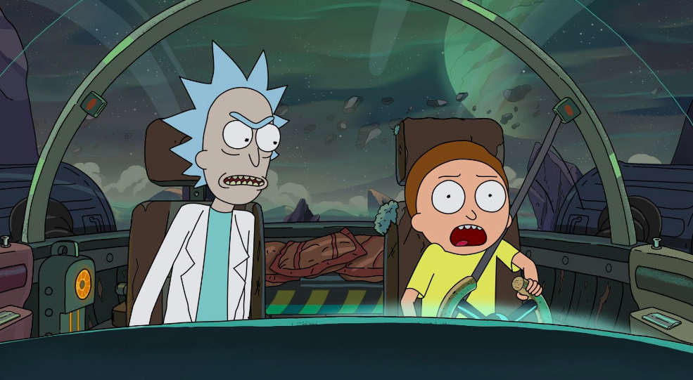 'Rick and Morty': fascists and Akira in the hilarious premiere of season 4