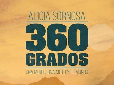 """""""360 Grados"""", una novela para acompañar a Alicia Sornosa en su vuelta al mundo en moto"""