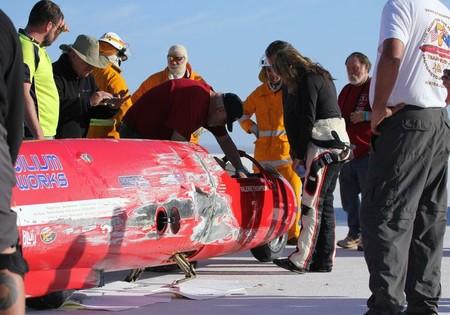 El vídeo de Valerie Thompson sobreviviendo a una caída en moto a 552 km/h es lo más milagroso que verás hoy