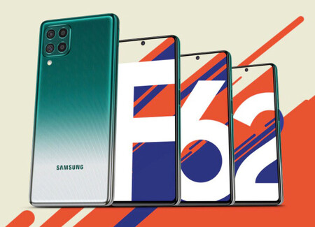 Samsung Galaxy F62 Oficial India