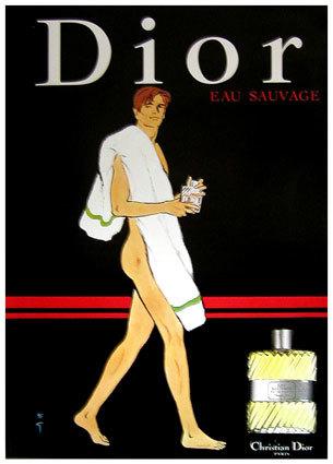 Gruau para Eau Sauvage de Dior