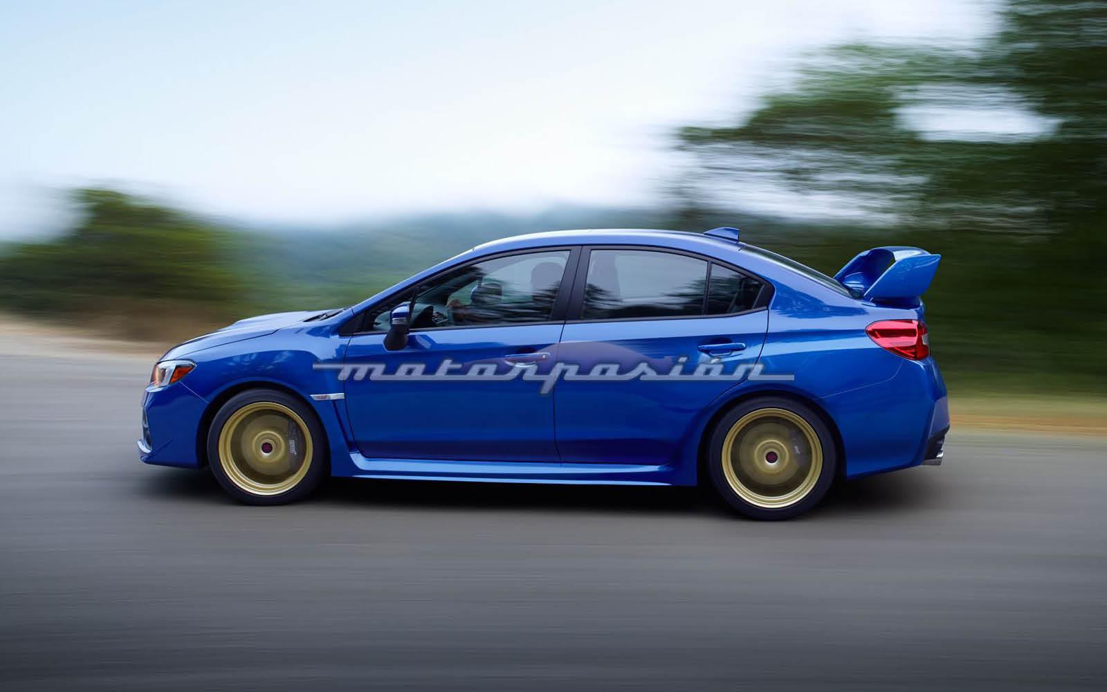 Subaru WRX STI (5/8)