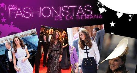 Fashionistas de la Semana: Kate Middleton, la percha de la realeza inglesa