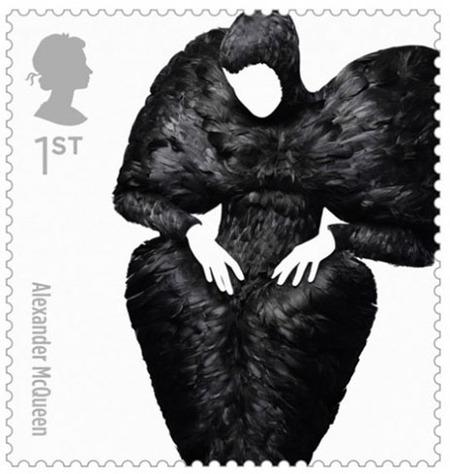 Alexander McQueen Stamp