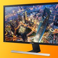 """75 Hz y resolución 4K: el monitor Samsung U28E570 de 28"""" está rebajado a su precio mínimo histórico en Amazon: 199,99 euros"""