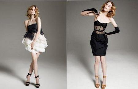 Los vestidos de cocktail 'Black Carpet' de Paule Ka