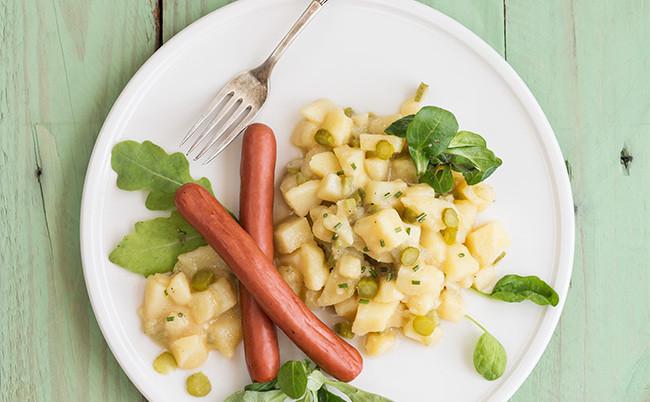 Cómo hacer ensalada alemana de patata o kartoffelsalat. Receta