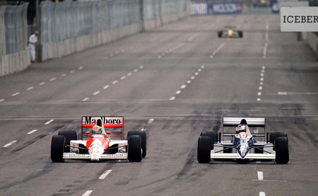 Gran Premio de Estados Unidos 1990: Ayrton Senna se encuentra con un rival inesperado