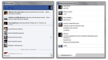 Facebook Messenger para Windows 7 es oficial