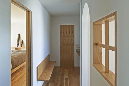 Casa con madera