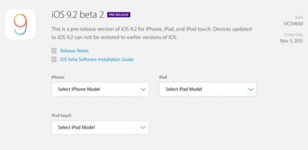 Apple lanza la segunda beta para desarrolladores de iOS 9.2 y OS X 10.11.2 El Capitan