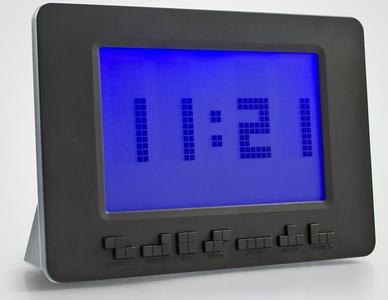 Tetris Alarm Clock, por fin un despertador con licencia oficial de Tetris