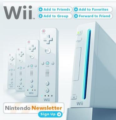 MySpace oficial de Wii