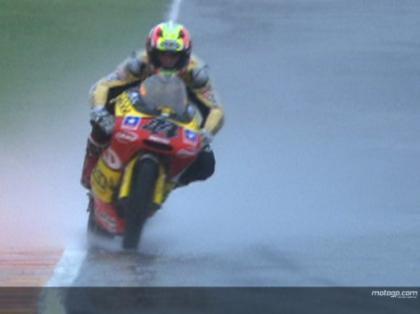 Gran Premio de Mugello: los entrenamientos libres bajo el agua
