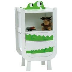 Foto 3 de 4 de la galería divertida-habitacion-infantil-en-blanco-y-verde en Decoesfera