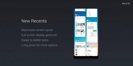 MIUI 10 presentación Xiaomi