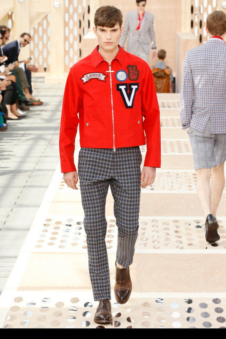 Louis Vuitton SS 2014 varsity