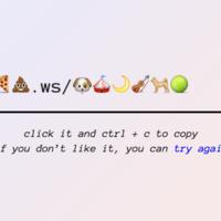Cómo acortar un enlace web usando sólo emojis