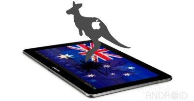 La Samsung Galaxy Tab 10.1, seguirá estando prohibida en Australia