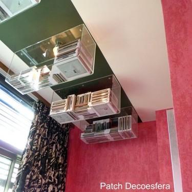 Dos soluciones para almacenar cosas en el techo