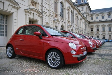 Sale de la fábrica el Fiat 500 número un millón