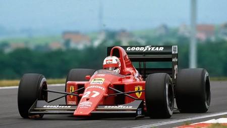 Mansell Hungaroring F1 1989