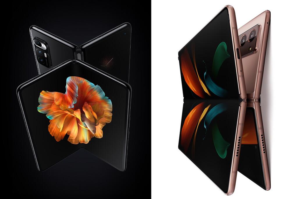 Xiaomi Mi MIX Fold vs Samsung Galaxy Z Fold 2, duelo de plegables: así queda la apuesta de Xiaomi frente a la de Samsung