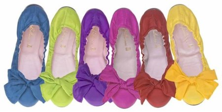 Lo último de las Pretty Ballerinas: tela de paracaídas