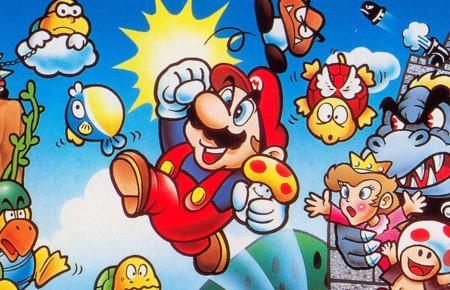 Super Mario Bros E European Cover