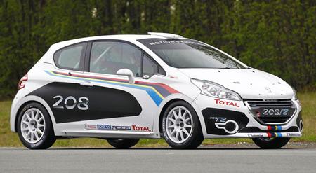 Peugeot 208 R2, preparado para asfalto o grava