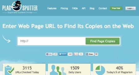 PlagSpotter: descubre quien ha plagiado contenido de tu web en sólo unos segundos