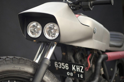 Yamaha Scorpio, una Kamen Rider realizada en Yakarta
