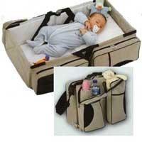 Cuna Baby Travel: un bolso que se convierte en cuna