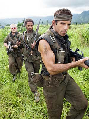 Primera imagen de 'Tropic Thunder', de Ben Stiller
