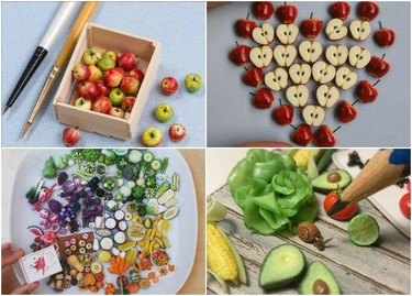 Las adorables miniaturas culinarias de Stéphanie Kilgast
