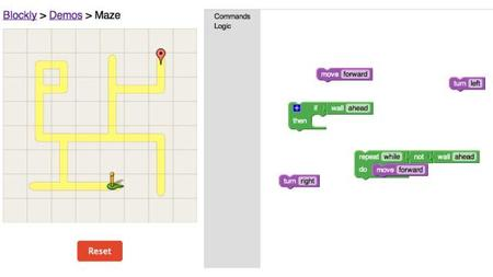 Google Blockly, un lenguaje visual para aprender a programar