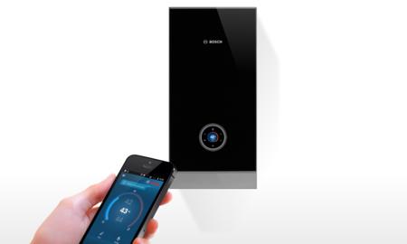 Controlar el ahorro de agua y gas en casa desde nuestro móvil es posible con este calentador ideado por Bosch