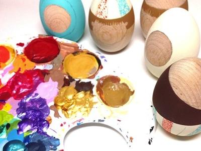 Tres ideas DIY para decorar huevos de Pascua